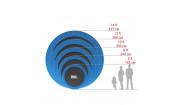 Батут UNIX line 10 ft outside (blue)