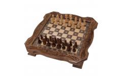 Шахматы резные в ларце 40 Avetyan
