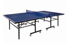 Теннисный стол всепогодный LIJU, 15 мм, колеса 50 мм, синий D9806