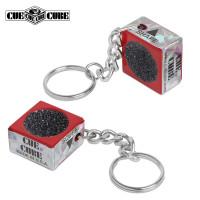 Брелок-инструмент для обработки наклейки Cue Cube красный
