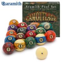 Шары Aramith Camouflage Pool ø57,2мм