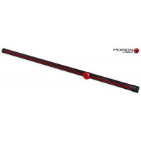 Тубус Poison Armor Velcro 1PC красный/черный