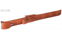 Тубус QK-S Tomahawk 1x1 светло-коричневый аллигатор