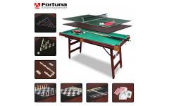 Бильярдный стол Fortuna Пул 5фт 9 в 1 с комплектом аксессуаров