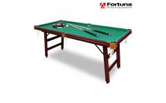 Стол для бильярда Fortuna Пул 6фт с комплектом аксессуаров