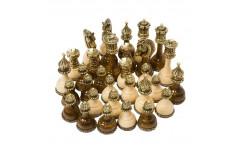 Шахматные  фигуры Королевские  средние 803, Haleyan