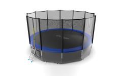 Батут EVO JUMP External 16ft (Blue) + Lower net